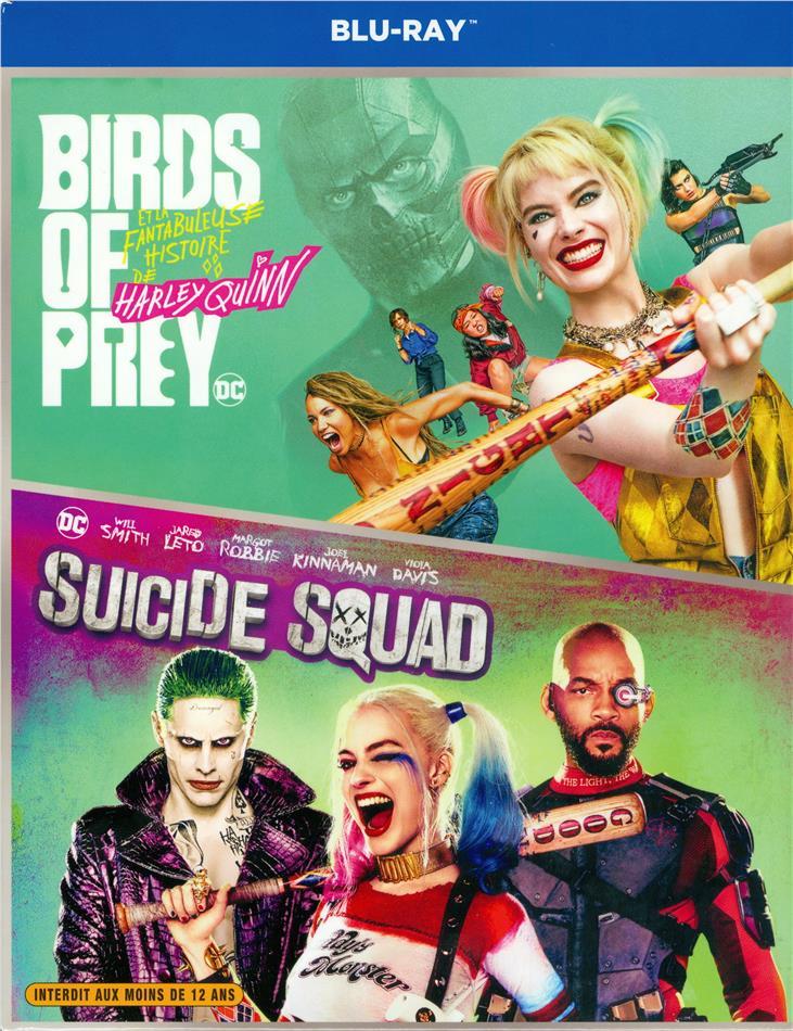 Birds of Prey - Et la fantabuleuse histoire de Harley Quinn / Suicide Squad - DC Collection 2 Films (Extended Edition, Kinoversion, 3 Blu-rays)
