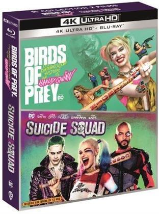 Birds of Prey et la fantabuleuse histoire de Harley Quinn (2020) / Suicide Squad (2016) (2 4K Ultra HDs + 2 Blu-rays)