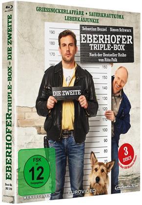 Eberhofer Triple-Box: Die Zweite - Griessnockerlaffäre / Sauerkrautkoma / Leberkäsjunkie (3 Blu-ray)
