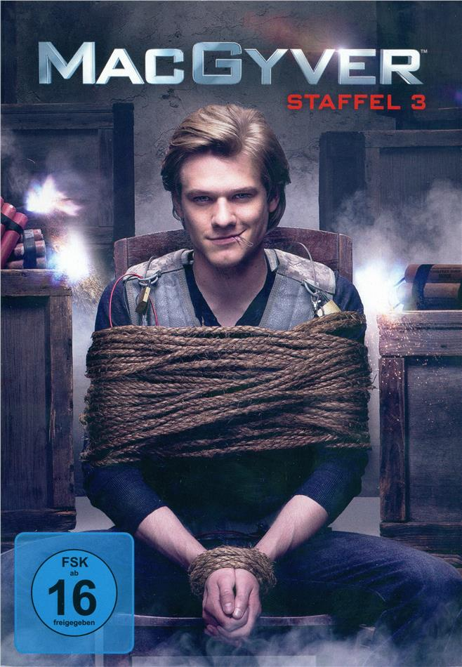 MacGyver - Staffel 3 (2016) (6 DVDs)