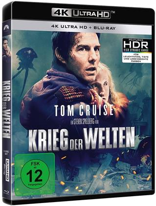 Krieg der Welten (2005) (4K Ultra HD + Blu-ray)