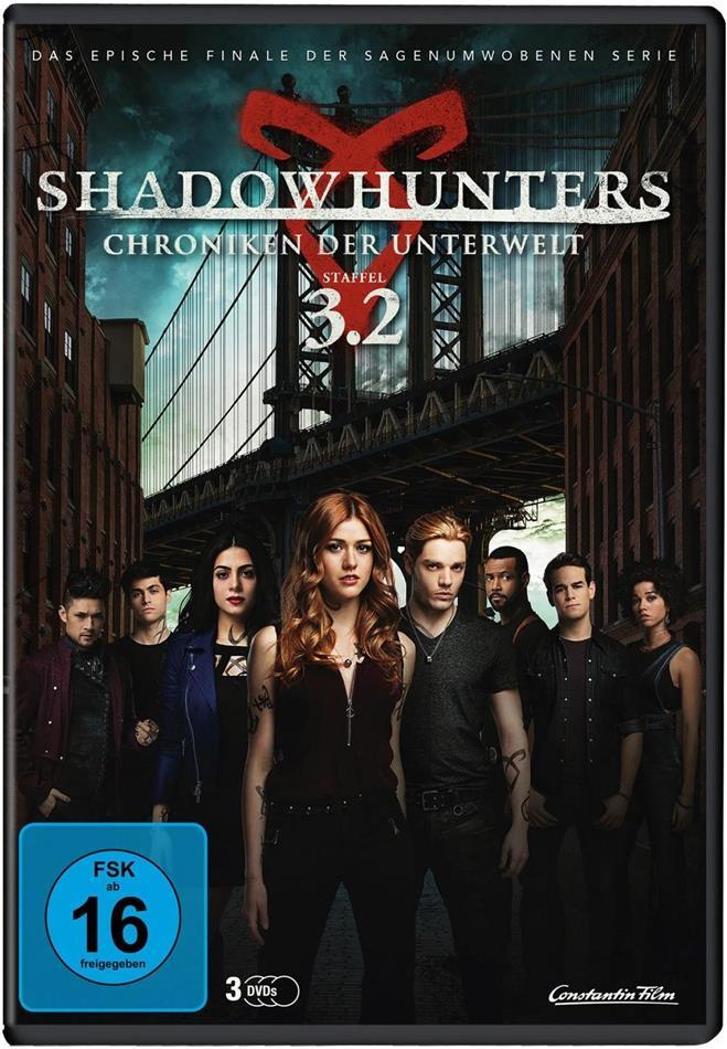 Shadowhunters - Chroniken der Unterwelt - Staffel 3.2 (3 DVDs)