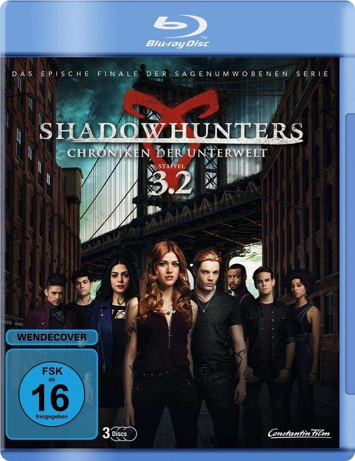 Shadowhunters - Chroniken der Unterwelt - Staffel 3.2 (3 Blu-rays)