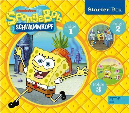 SpongeBob Schwammkopf - SpongeBob - Starter-Box (1) (3 CDs)