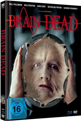 Brain Dead (1990) (Limited Edition, Mediabook, Uncut, Blu-ray + DVD)