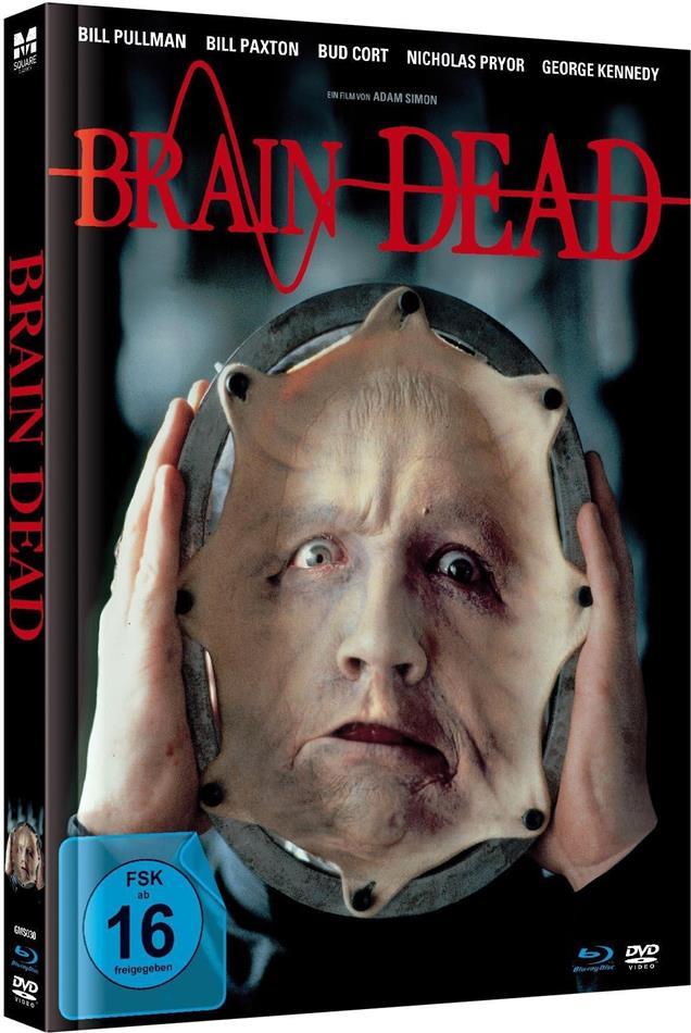 Brain Dead (1990) (Limited Edition, Mediabook, Uncut, Blu-ray + DVD)