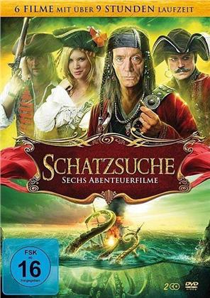 Schatzsuche - Sechs Abenteuerfilme (2 DVDs)