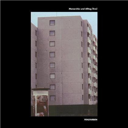 Fehlfarben - Monarchie Und Alltag (Live) (LP)