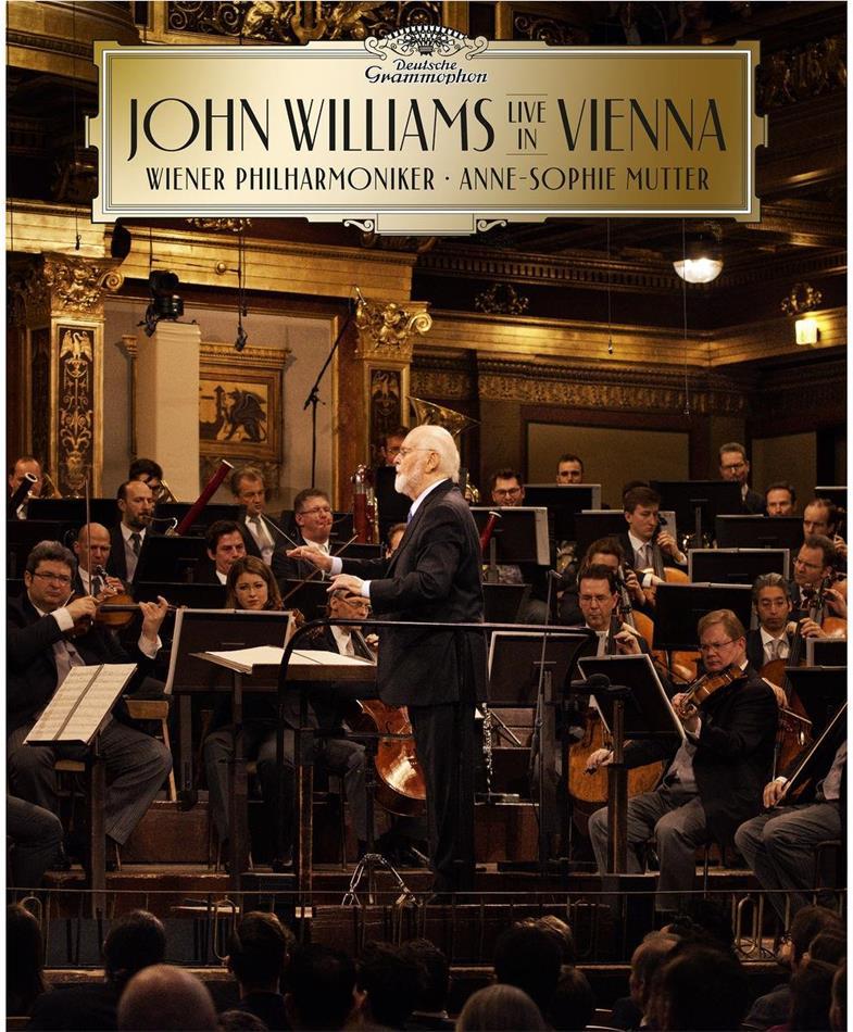 John Williams (*1932) (Komponist/Dirigent) & Anne-Sophie Mutter - John Williams In Vienna (Deluxe Edition, CD + Blu-ray)