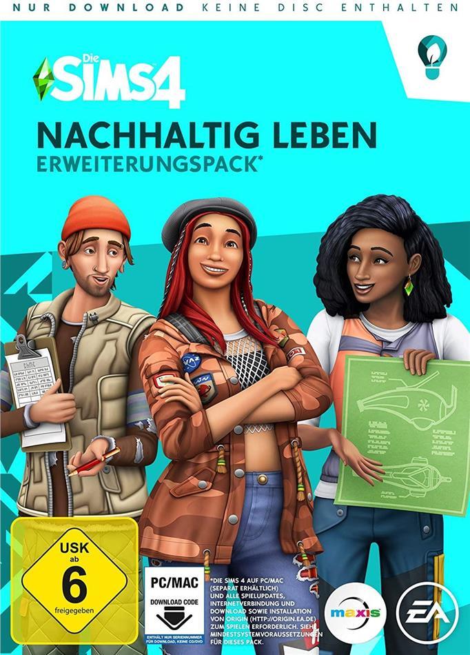 Die Sims 4 ADDON Nachhaltig Leben - (Code in a Box) (German Edition)