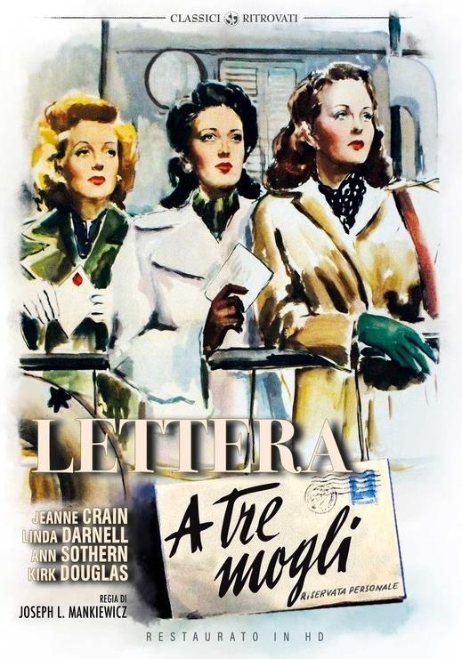 Lettera a tre mogli (1949) (Classici Ritrovati, Restaurato in HD, n/b)