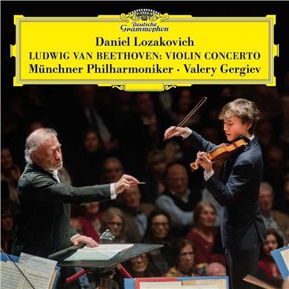 Ludwig van Beethoven (1770-1827), Valery Gergiev, Daniel Lozakovich & Münchner Philharmoniker - Violinkonzert