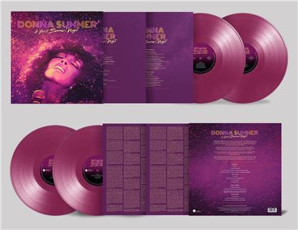 Donna Summer - A Hot Summer Night (Purple Vinyl, 2 LPs)