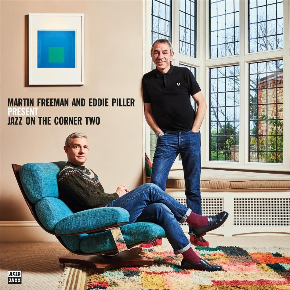 Martin Freeman & Eddie Piller - Martin Freeman And Eddie Piller Present Jazz On The Corner Two (2 CDs)