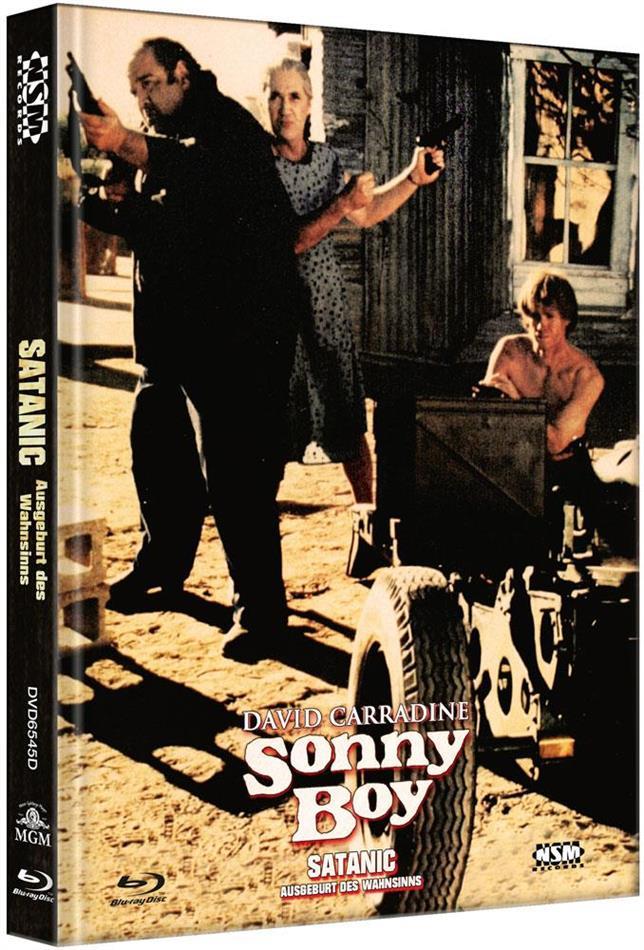 Satanic - Ausgeburt des Wahnsinns (1989) (Cover D, Limited Edition, Mediabook, Blu-ray + DVD)