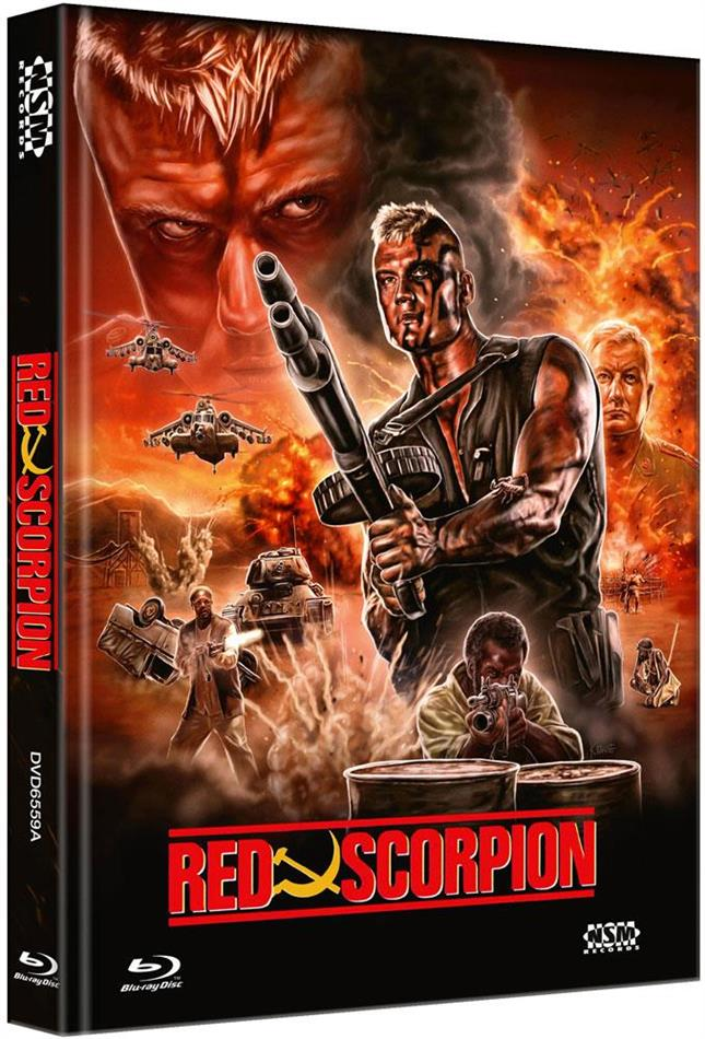 Red Scorpion (1988) (Cover A, Limited Edition, Mediabook, Blu-ray + DVD)