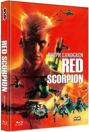 Red Scorpion (1988) (Cover B, Limited Edition, Mediabook, Blu-ray + DVD)