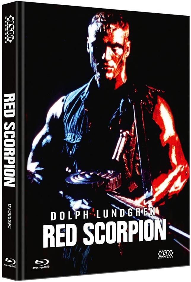 Red Scorpion (1988) (Cover C, Limited Edition, Mediabook, Blu-ray + DVD)