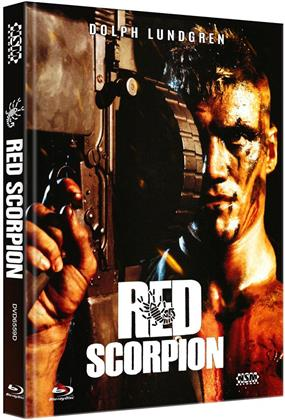 Red Scorpion (1988) (Cover D, Limited Edition, Mediabook, Blu-ray + DVD)