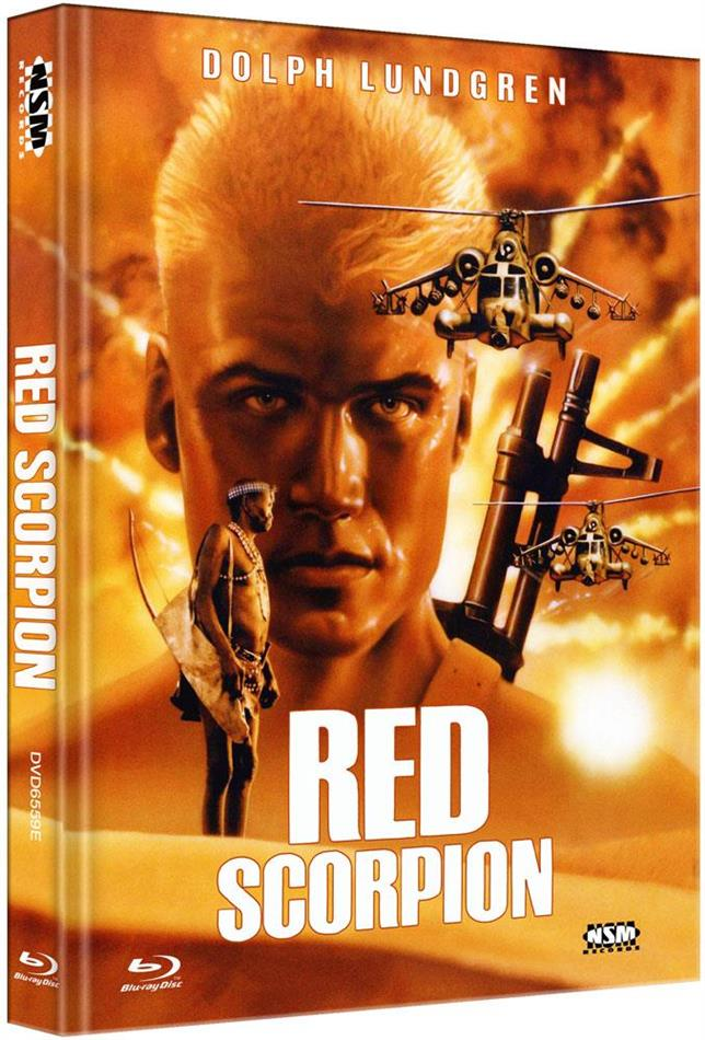 Red Scorpion (1988) (Cover E, Limited Edition, Mediabook, Blu-ray + DVD)