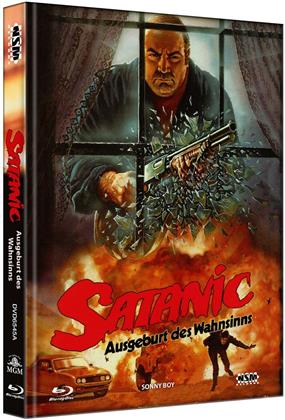 Satanic - Ausgeburt des Wahnsinns (1989) (Cover A, Edizione Limitata, Mediabook, Blu-ray + DVD)