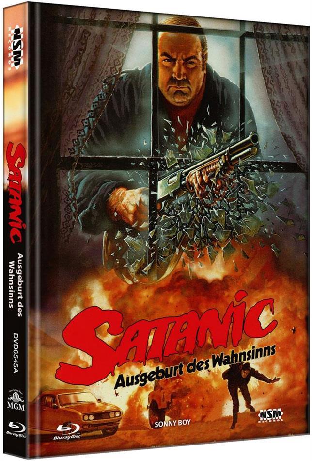 Satanic - Ausgeburt des Wahnsinns (1989) (Cover A, Limited Edition, Mediabook, Blu-ray + DVD)