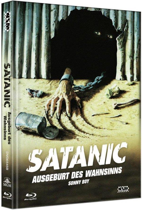 Satanic - Ausgeburt des Wahnsinns (1989) (Cover B, Limited Edition, Mediabook, Blu-ray + DVD)
