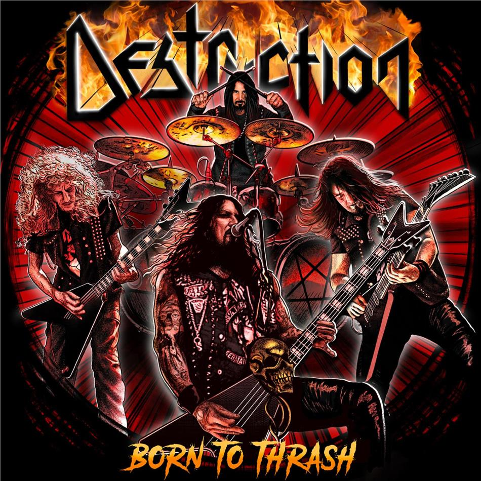 Destruction - Born To Thrash - Live In Germany (2 LPs)