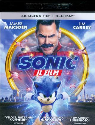 Sonic - Il Film (2019) (4K Ultra HD + Blu-ray)