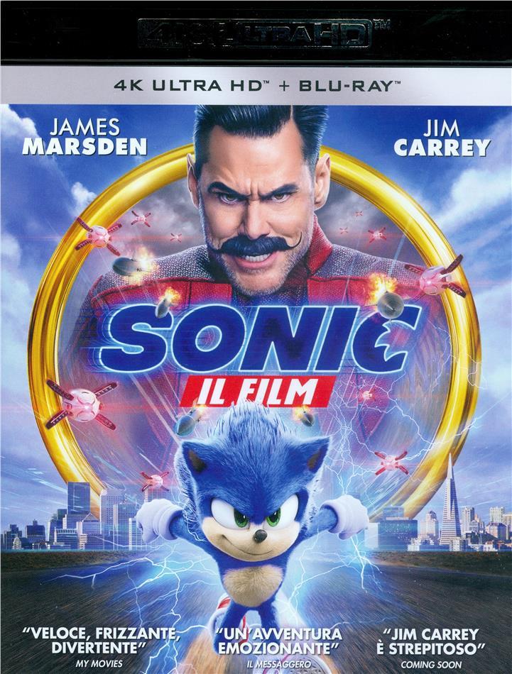 Sonic - Il Film (2019) (4K Ultra HD + Blu-ray)