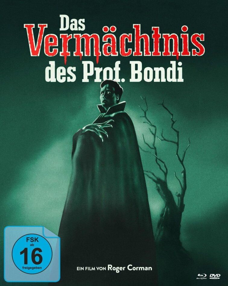 Das Vermächtnis des Professor Bondi (1959) (s/w, Limited Edition, Mediabook, 2 Blu-rays + DVD)