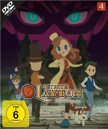 Detektei Layton - Katrielles rätselhafte Fälle - Vol. 4 (2 DVDs)