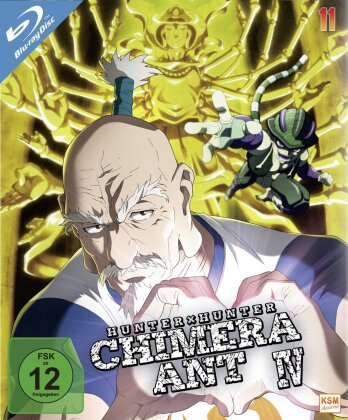 Hunter X Hunter - Vol. 11: Chimera Ant IV (2011) (2 Blu-rays)