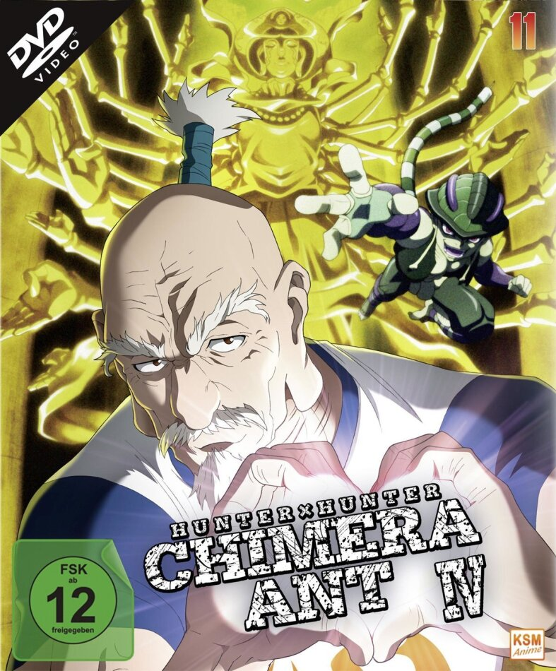 Hunter X Hunter - Vol. 11: Chimera Ant IV (2011) (2 DVDs)