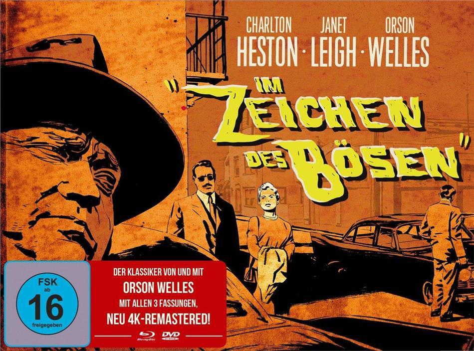 Im Zeichen des Bösen (1958) (s/w, Limited Edition, Mediabook, Remastered, Blu-ray + DVD)