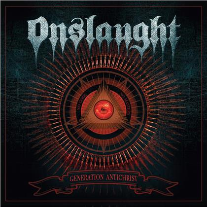 Onslaught - Generation Antichrist (Limited Gatefold, Clear Silver Vinyl, LP)