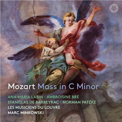 Les Musiciens du Louvre, Wolfgang Amadeus Mozart (1756-1791), Marc Minkowski & Ana Maria Labin - Mass In C Minor - C-Moll Messe