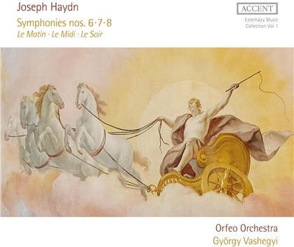 Orfeo Orchestra, Joseph Haydn (1732-1809) & György Vashegyi - Symphonies 6-8