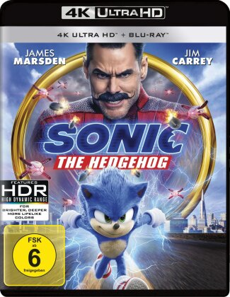 Sonic the Hedgehog (2019) (4K Ultra HD + Blu-ray)