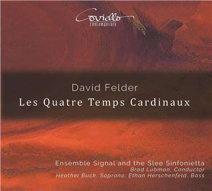 Ensemble Signal, David Felder, Heather Buck & Ethan Herschenfeld - Les Quatre Temps Cardinaux (Hybrid SACD)