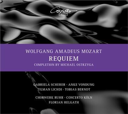 Wolfgang Amadeus Mozart (1756-1791), Florian Helgath, Gabriela Scherer, Concerto Köln & Chorwerk Ruhr - Requiem