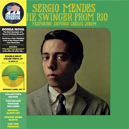 Sergio Mendes - Swinger From Rio (2020 Reissue, Culture Factory, Yellow/Green Vinyl, LP)