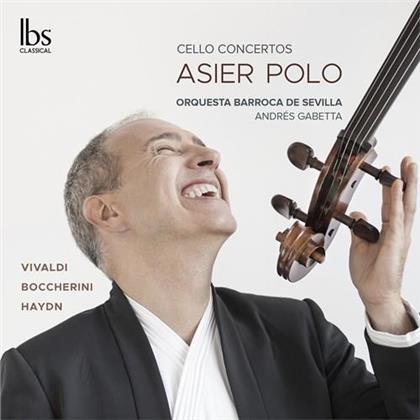 Antonio Vivaldi (1678-1741), Luigi Boccherini (1743-1805), Joseph Haydn (1732-1809), Andrés Gabetta & Asier Polo - Cello Concertos