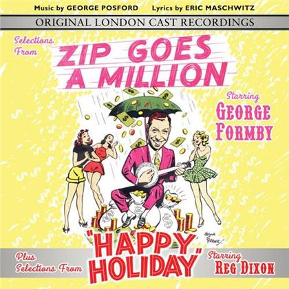 George Formby - Selections From Zip Goes A Million & Happy Holiday - Original London Cast