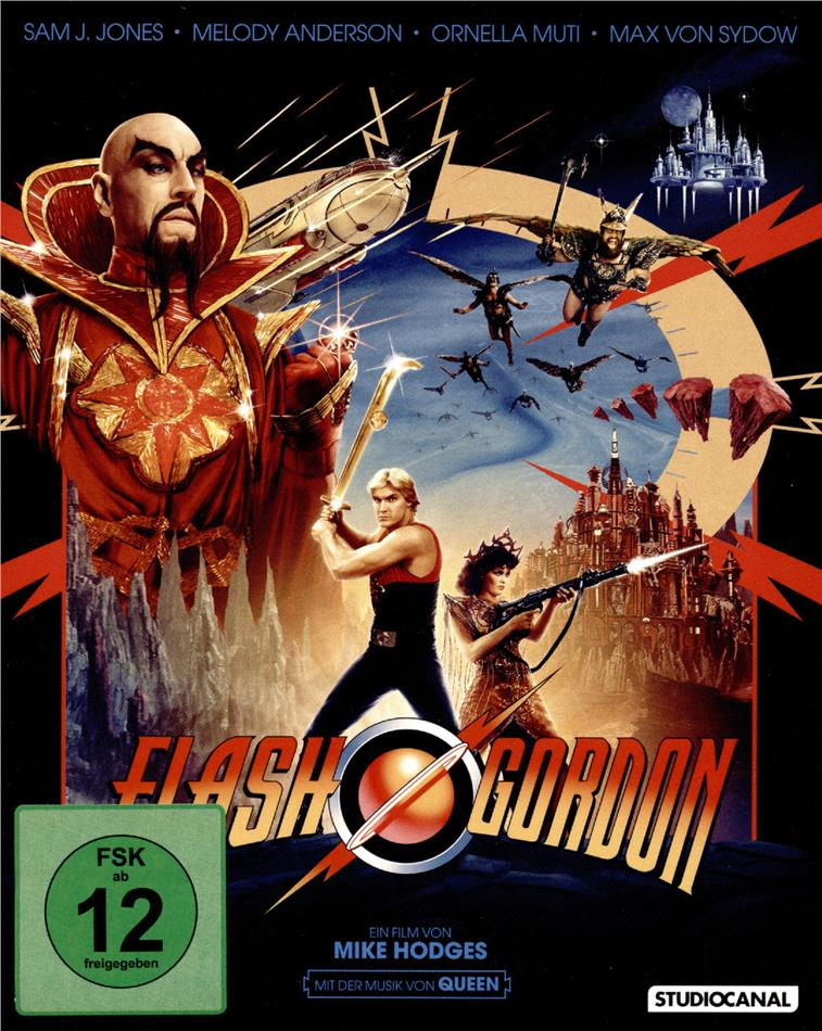 Flash Gordon (1980) (Digipack, Limited Collector's Edition, Restaurierte Fassung, 3 Blu-rays + CD + Booklet)