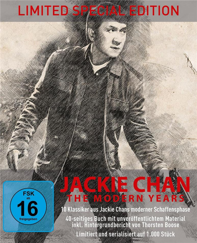 Jackie Chan - The Modern Years (Limited Special Edition, 10 Blu-rays)