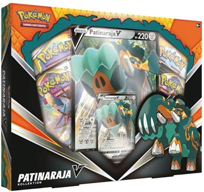 Pokemon Cards Patinaraja-V 6er-Box