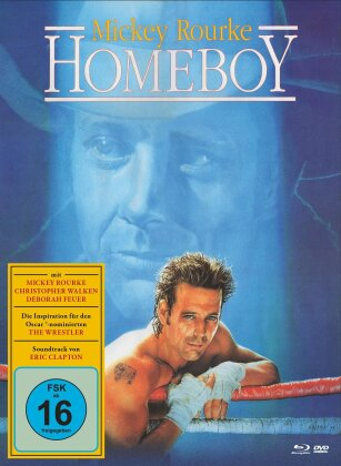 Homeboy (1988) (Cover B, Limited Edition, Mediabook, Blu-ray + DVD)