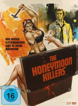The Honeymoon Killers (1969) (Cover B, s/w, Limited Edition, Mediabook, Blu-ray + DVD)