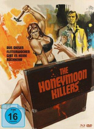 The Honeymoon Killers (1970) (Cover B, s/w, Limited Edition, Mediabook, Blu-ray + DVD)